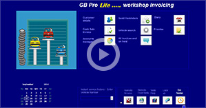Click to play the GB Pro lite screencast
